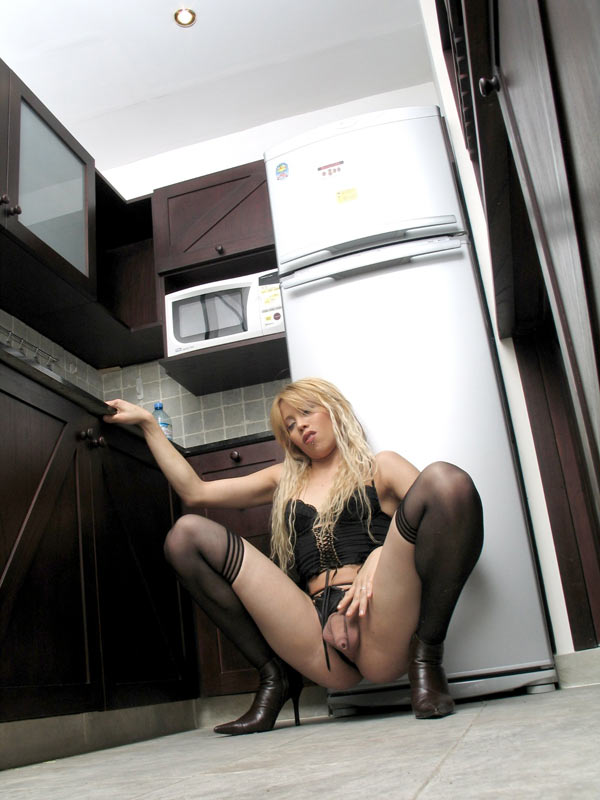 Ladyboy Talisha Stockings